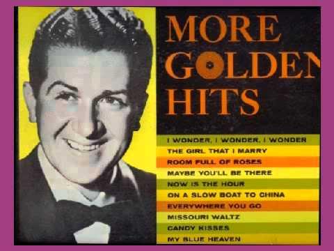 Eddy Howard sings The Girl That I Marry