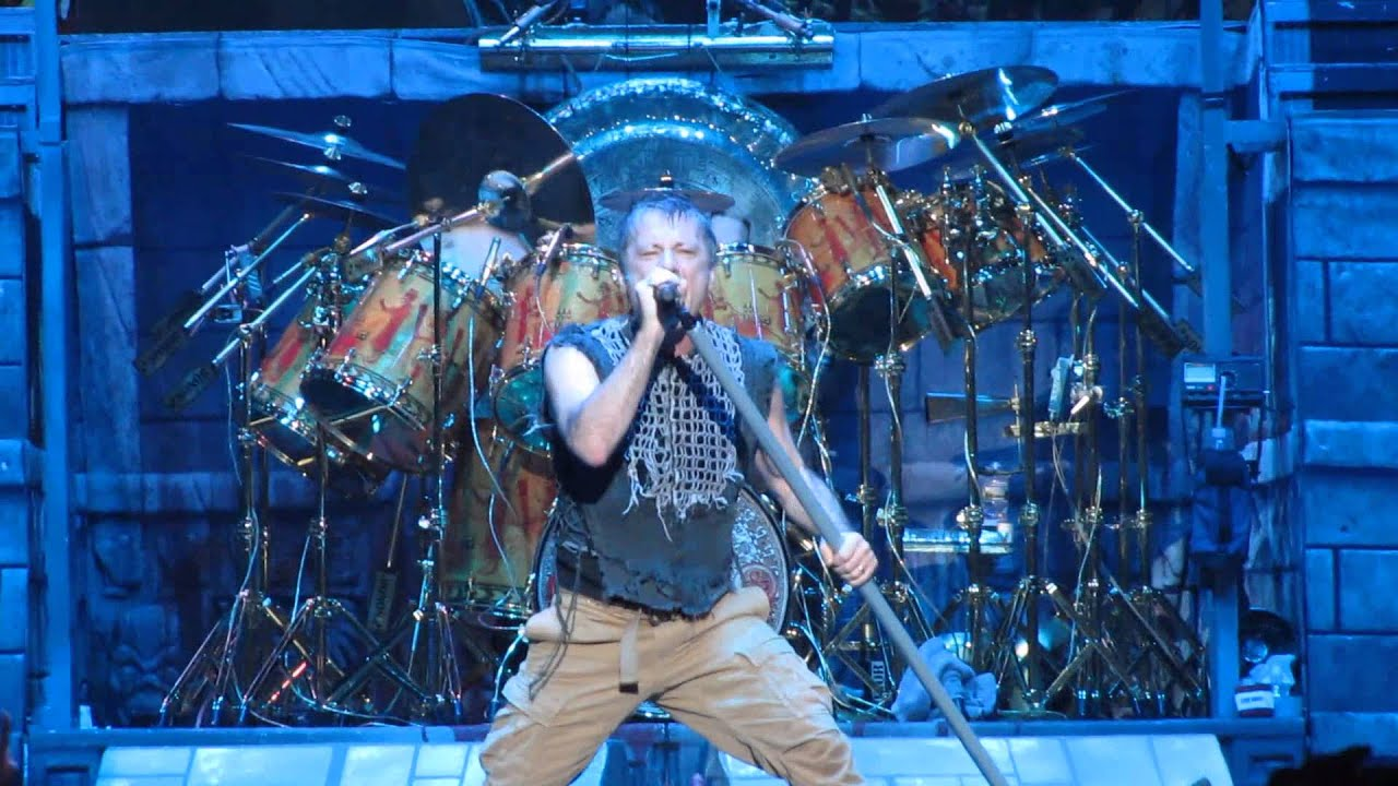 Iron Maiden - Death Or Glory - live @ Madison Square Garden, New York City - 30th March 2016