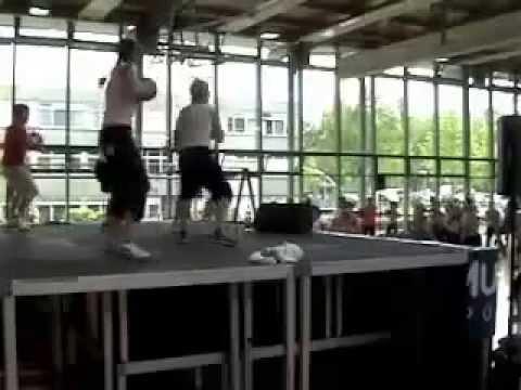 Speedball Fitness   Ifaa Sept  2011 Steve Feinberg and his Team