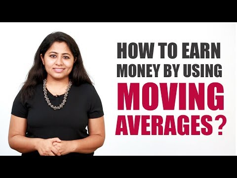 How to earn money by using moving averages?