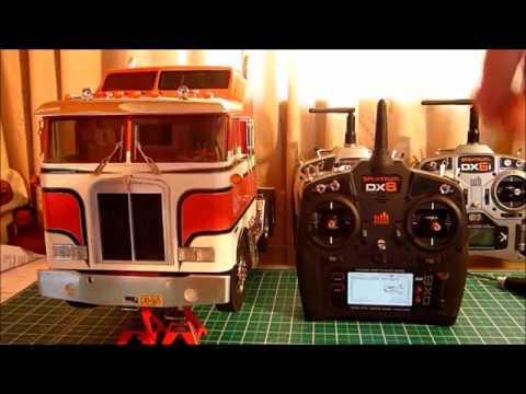 MFC-03 Operation with Spektrum DX6 Digital Radio using Dual Rates