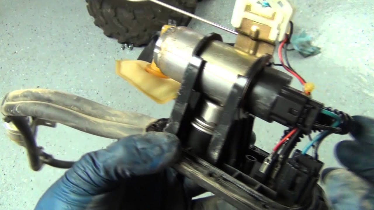 how to diagnose and replace the fuel pump in a can am quad youtube rh youtube com Honda 400 ATV Can-Am DS 250