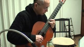 Lagrima  Francisco Tarrega by Kazuo Aoki  ラグリマ ギター 青木一男