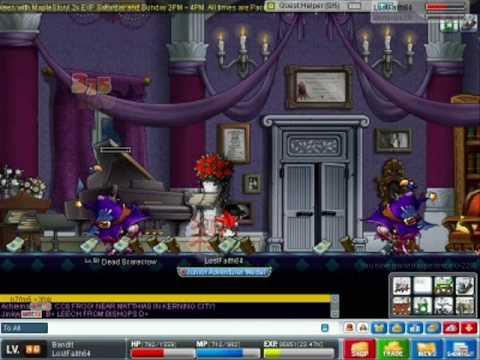 Maplestory training guide level 18-30 haunted mansion youtube.