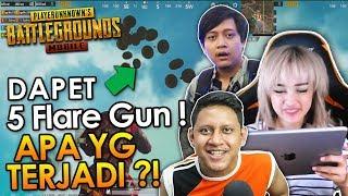 NEMBAK 5 FLARE GUN SEKALIGUS! NGAKAK! - feat TAMPANgaming dan ipattt
