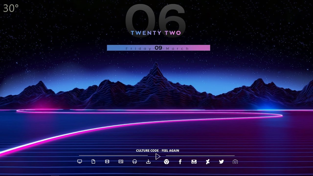 new synthwave neon theme for windows pc - 2019