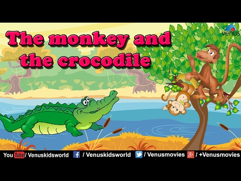 PANCHTANTRA ~ The Monkey And The Crocodile (English
