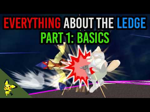 EVERYTHING You Need To Know About The Ledge - Part 1 - Super Smash Bros. Melee