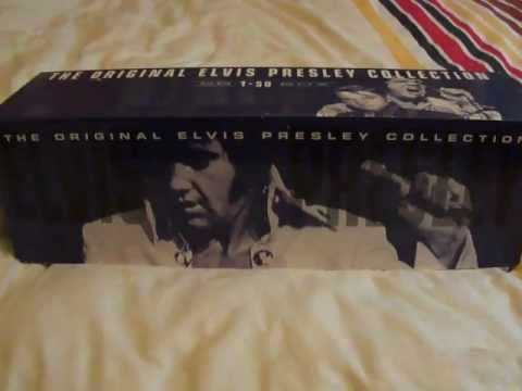 the original elvis presley collection 50 CD box set 1996.