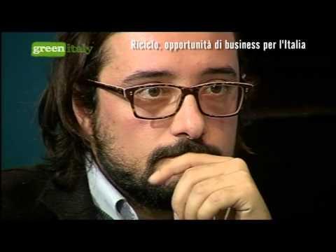 Green Italy - Riciclo, opportunità di business per l'Italia