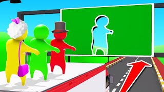 FIT Through The WALL OR DIE In GANG BEASTS! (impossible) Video