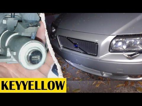 ซ่อมกุญแจรถ Volvo S80 กุญแจเสีย ไขไม่ได้