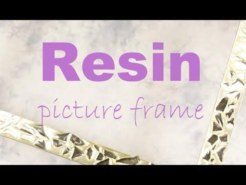 Custom-made Resin Picture Frame Samples #ResinCoating