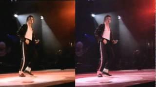 Michael Jackson   Billie Jean Live 2 Spilt Version Bucharest 1992