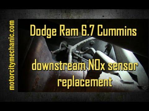 2011 Dodge Ram 4500 6.7 liter sel engine downstream NOx sensor ... on 2010 dodge charger trunk fuse box diagram, 2010 dodge charger fuse panel layout, 07 dodge charger fuse diagram,