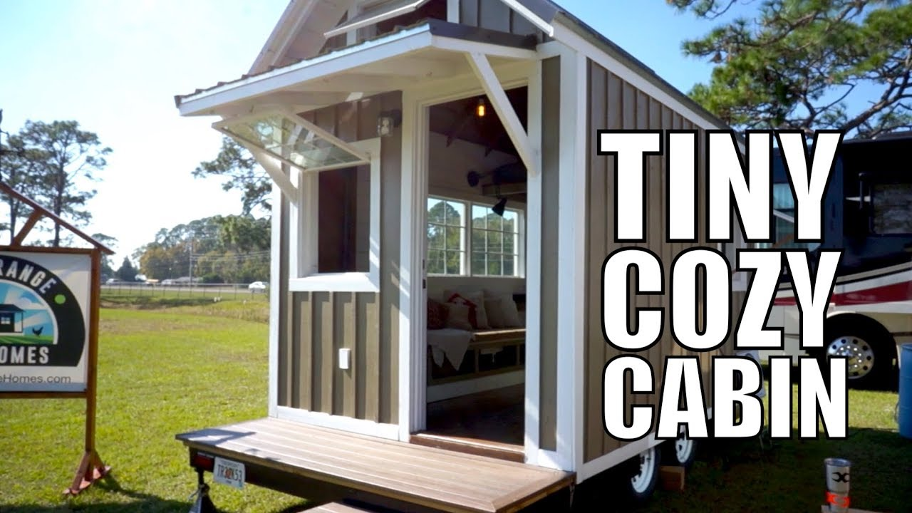 Tiny Cabin On Wheels Only 15k Home Thow Free Range Homes