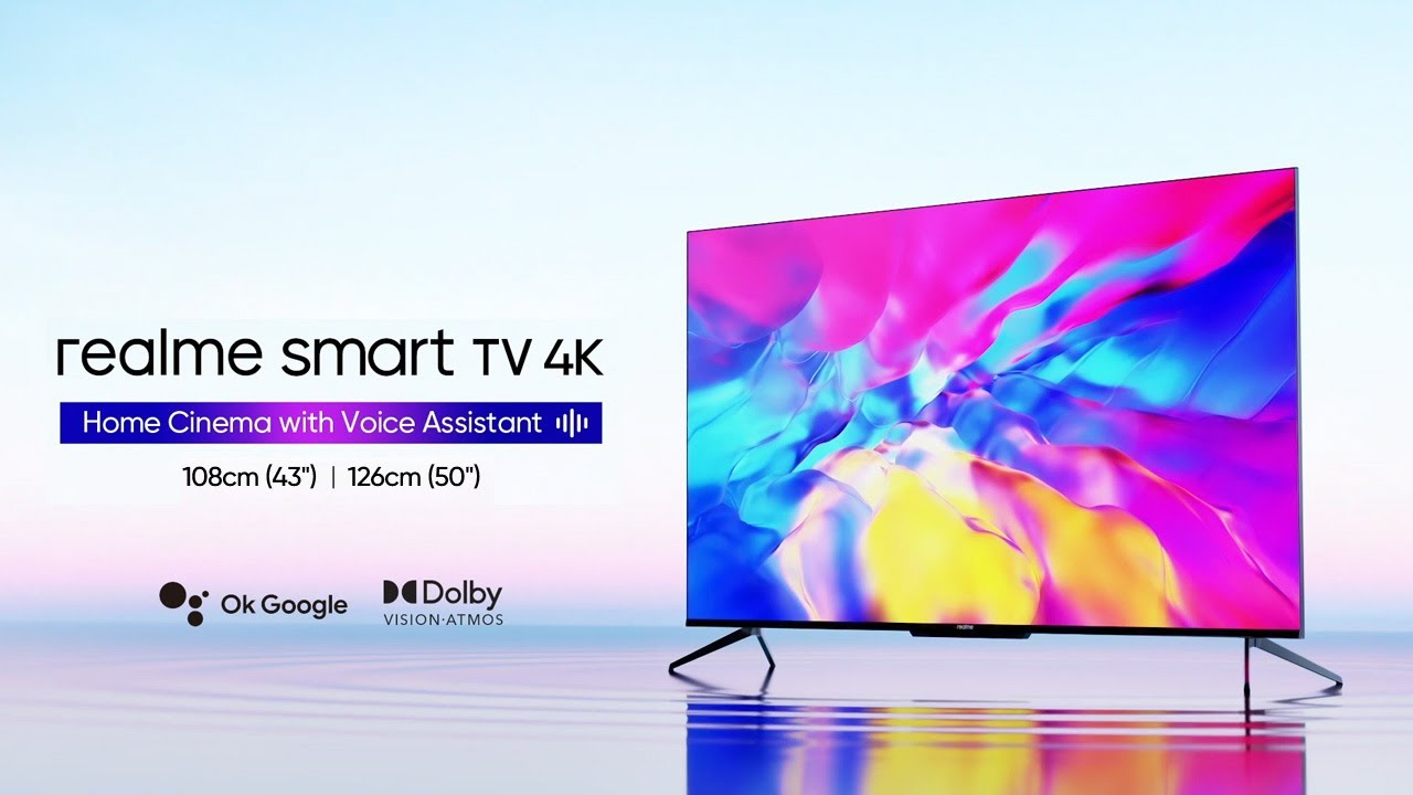 realme Smart TV 4K series | Home Cinema with Voice Assistant
