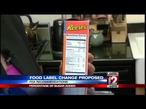 Proposed label would give context to sugar in foods