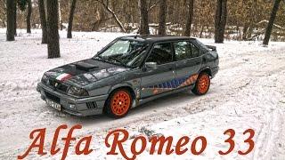 Driving the car Alfa Romeo 33 / За рулем автомобиля Alfa Romeo 33
