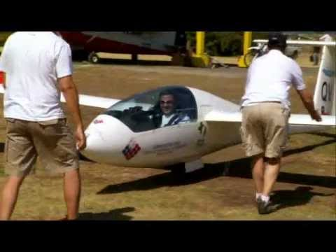 Glider Race in the Andes