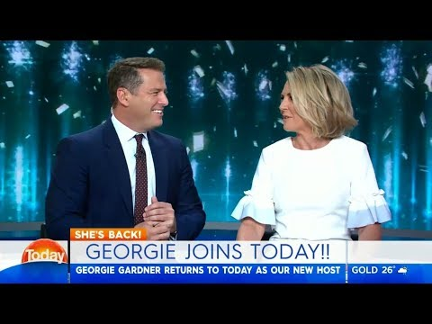Georgie joins TODAY