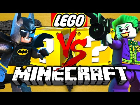 Minecraft: LEGO BATMAN LUCKY BLOCK CHALLENGE | HENCHMAN HIRI