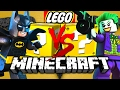 Minecraft: LEGO BATMAN LUCKY BLOCK CHALLENGE | HENCHMAN HIRING!