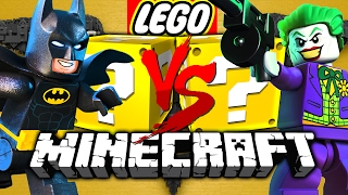 Minecraft: LEGO BATMAN LUCKY BLOCK CHALLENGE | HENCHMAN HIRING! thumbnail