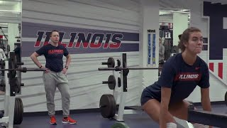 Illini Volleyball | Technique Tuesday with Emily Schilling