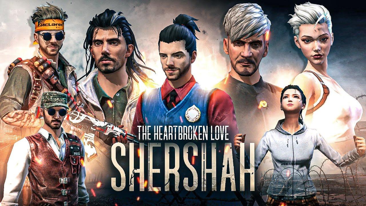 Shershaah - (VIKRAM BATRA) || HEARTBREAKING STORY 💔 || FREE FIRE SHORT ACTION FILM || RISHI GAMING