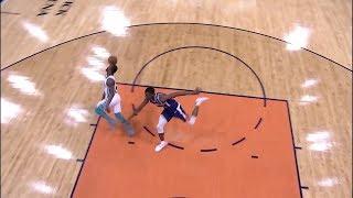 Kemba Walker Casually Nails a Half-Court Shot - Hornets vs Suns   2018-19 NBA Season