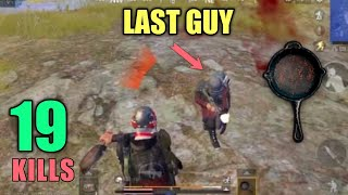 Last Guy Pan Challenge | Solo Vs Squad | PUBG Mobile