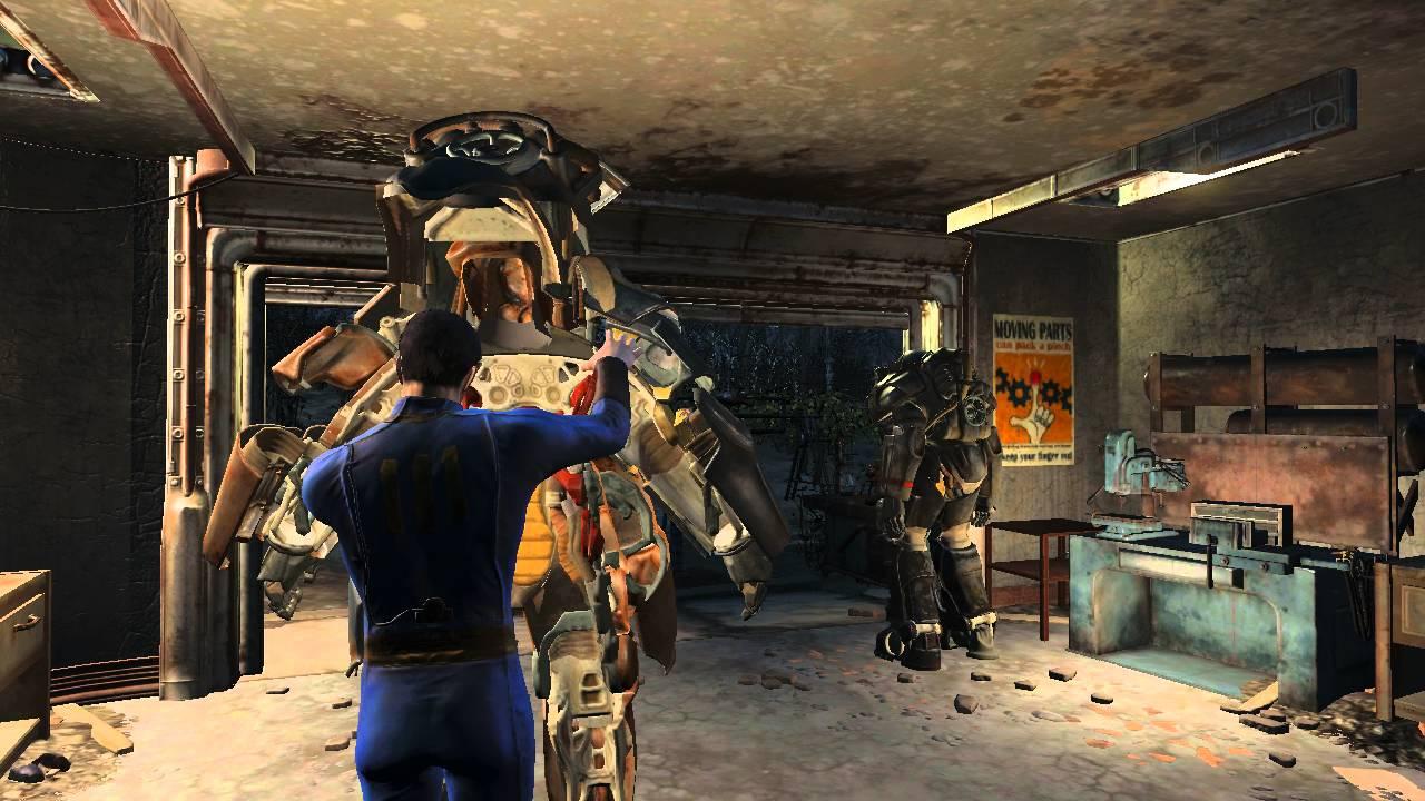 Fallout 4 Power Armor Animation YouTube