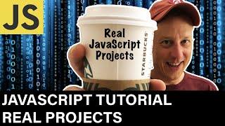 JavaScript Developer Tutorial & JavaScript Projects