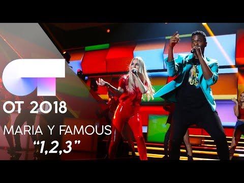 """1,2,3"" - FAMOUS Y MARÍA | Gala 6 | OT 2018"