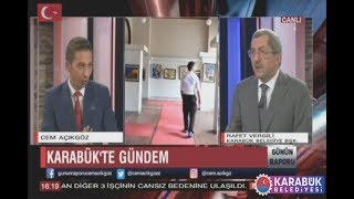 Başkan Vergili Bengü Türk TV´nin Konuğu Oldu