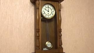 видео часы hermle настенные