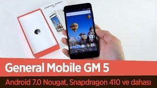 General Mobile GM5 Ön İnceleme Videosu | Android 7.0 Nougat Fiyat/Performans Telefonu
