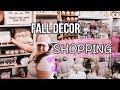 Fall Decor Shop With Me | HomeGoods & Kirkland's