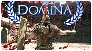 The Roman Gladiator Arena RETURNS! | Domina Gameplay Part 1 (Game Update)