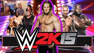 Y2J Always Sleeping!!! 6-Man Ladder Match [Money In The Bank] WWE 2K15 Gameplay, Commentary