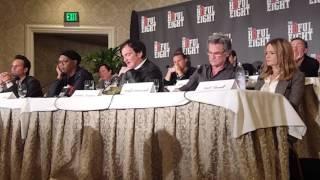 Quentin Tarantino responds to Police threats