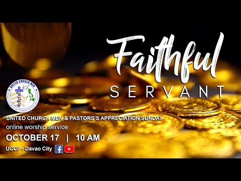 OCTOBER 17, 2021  SUNDAY WORSHIP SERVICE