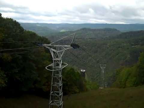 Aerial Tramway at Pipestem Resort West Virginia