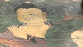 Conservation /// Korean Buddhist painting: Vulture Peak