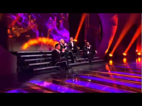 Boy Zone Performing Words  2010 On Stephen Gately Tribute ITV