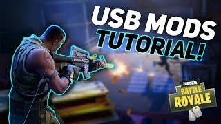Fortnite: Battle Royale USB MOD MENU TUTORIAL | AIMBOT! XBOX, PS4, PC | FORTNITE USB MODS/HACKS 2018
