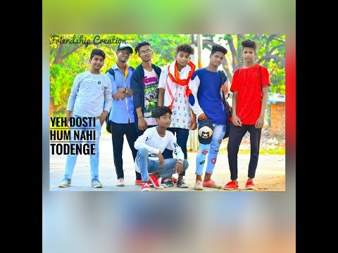 Yeh Dosti hum nhi todenge-Rahul Jain || Song || (Friendship Creation) ||
