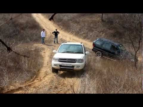 Tata Safari Offroading