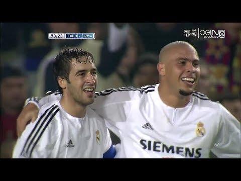 Download FC. Barcelona vs Real Madrid (2003/2004) | Partido Completo